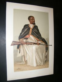 Vanity Fair Print 1903 Ras Makunan, Royal